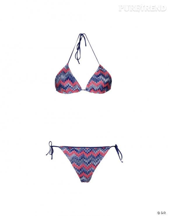 Nos must have à shopper sur le nouveau e-shop de Missoni :    Bikini, 220 €
