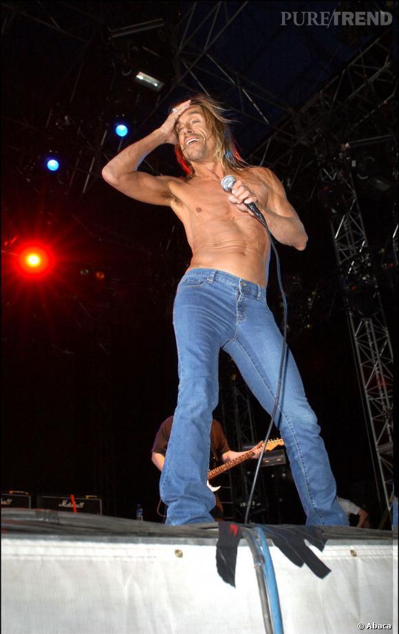 Iggy Pop retrouve les Stooges pour l'édition 2003.