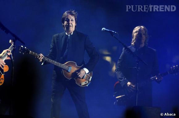 Paul McCartney s'impose façon légende de la musique en 2009.