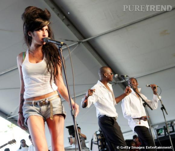 Amy Winehouse en 2007 à Coachella.