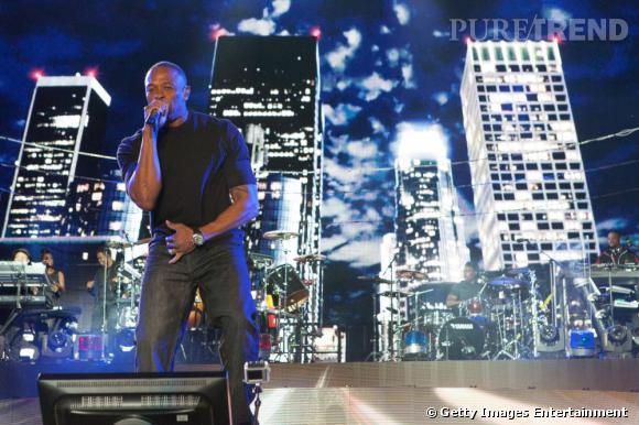 Dr Dre tête d'affiche en 2012.