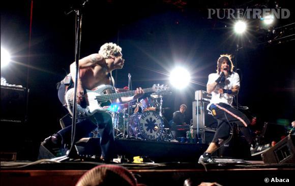 Tête d'affiche en 2013, les Red Hot Chili Peppers étaient déjà là en 2003.