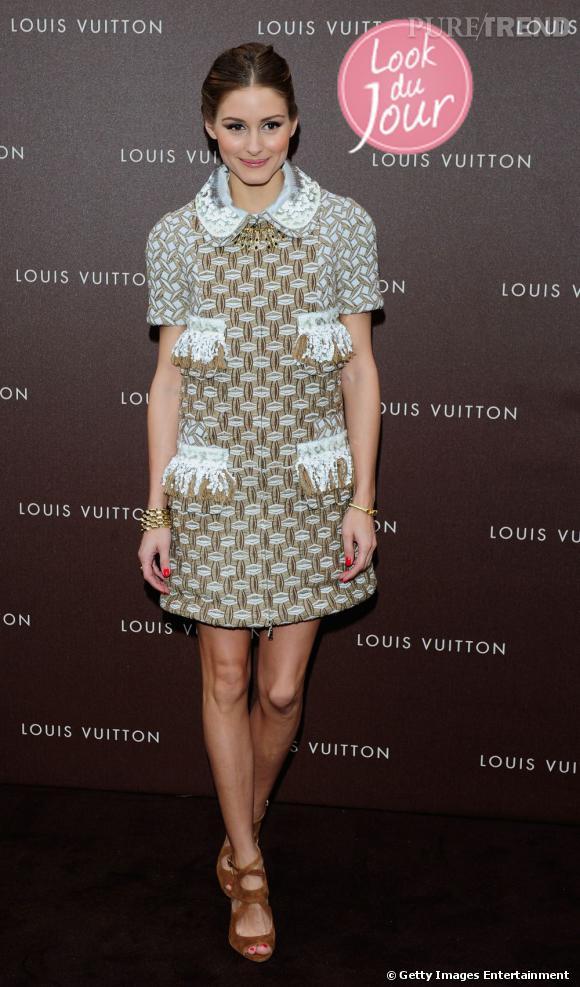 Olivia Palermo à l'ouverture d'une boutique Louis Vuitton à Munich, le 23 avril 2013.