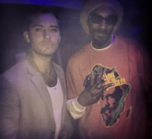 Tout le monde apprécie Snoop Dogg. Même Jude Law !