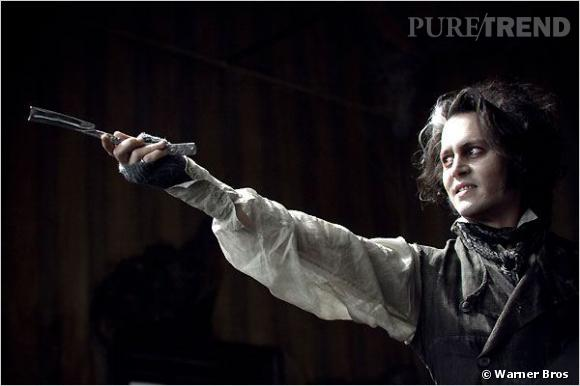 """Johnny Depp (ici dans """"Sweeney Todds"""") : bientôt dans une nouvelle comédie musicale ?"""