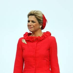 La reine Maxima des Pays Bas peut se montrer également très classique mais reste toujours chic.