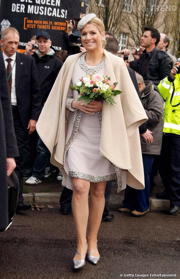 La reine Maxima des Pays Bas, le sourire n'est jamais loin.