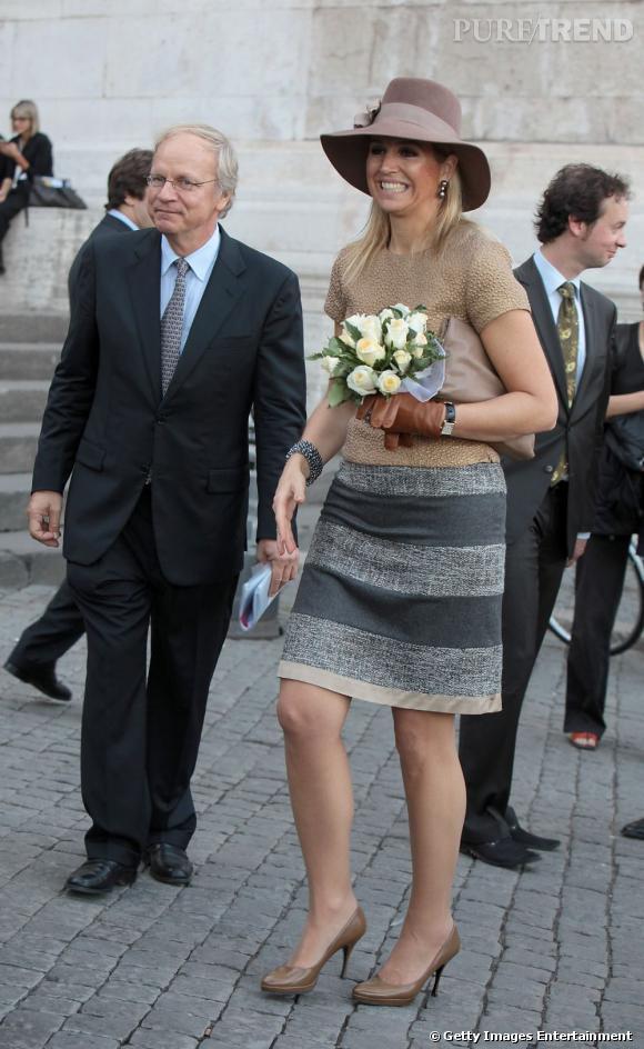 La reine Maxima des Pays Bas, une nouvelle reine très appréciée dans son pays.
