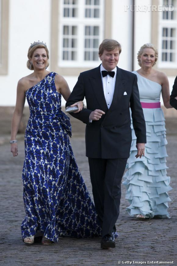 La reine Maxima des Pays Bas, un vrai rayon de soleil.