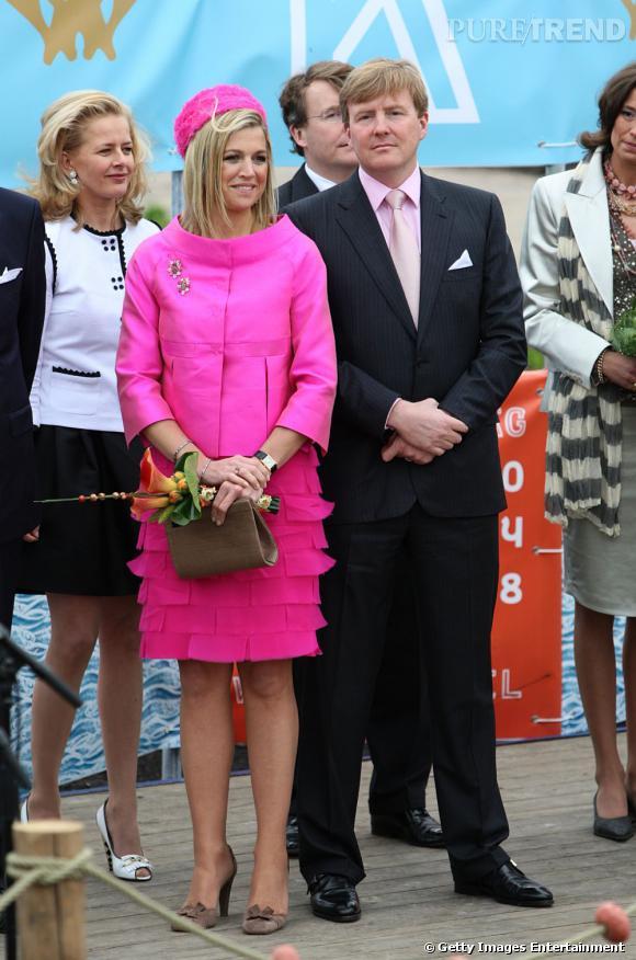 La reine Maxima des Pays Bas aime coordonner ses tenues.