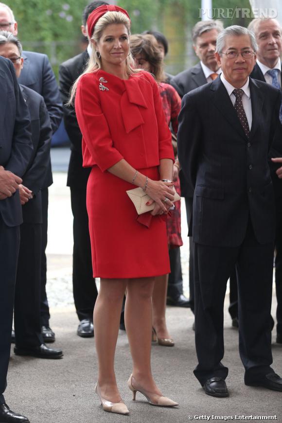 La reine Maxima des Pays Bas, on comprend pourquoi les hollandais l'adorent !