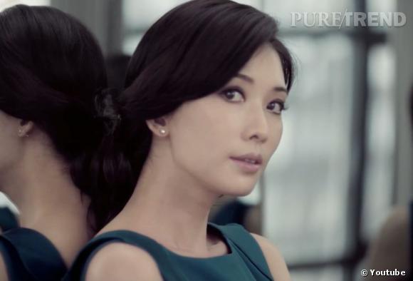 "L'actrice Lin Chi-Ling dans le film ""Shanghai Affairs"" d'Hugo Boss."
