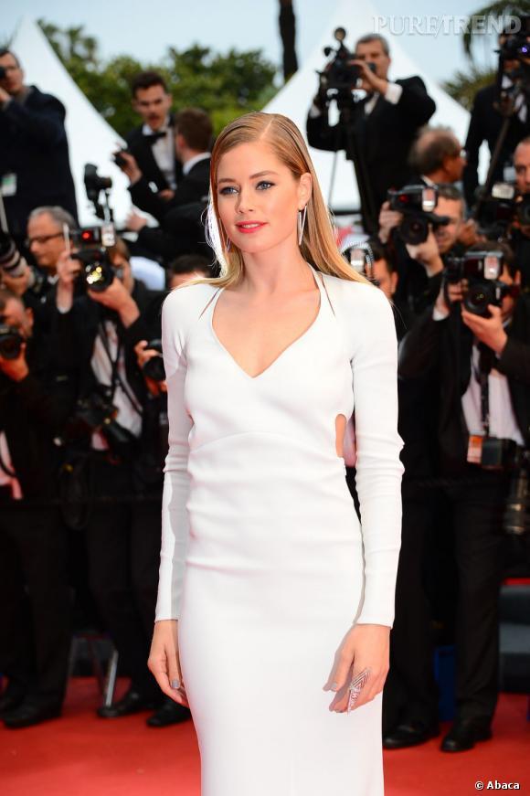 Cannes 2013 : Doutzen Kroes en Calvin Klein