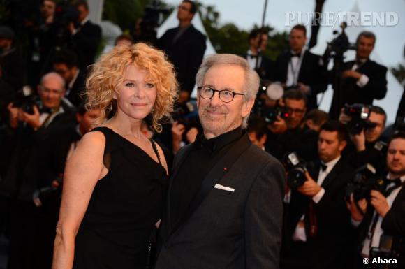 Cannes 2013 : Steven Spielberg et sa femme