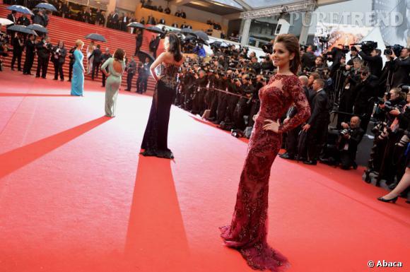 Cannes 2013 : Cheryl Cole fait son entrée en Zuhair Murad