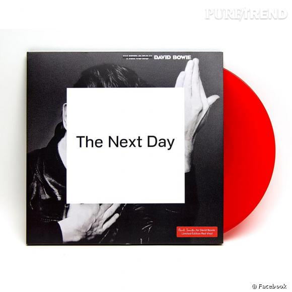 """La version vinyle de l'album """"The Next Day"""" de David Bowie est signée Paul Smith."""