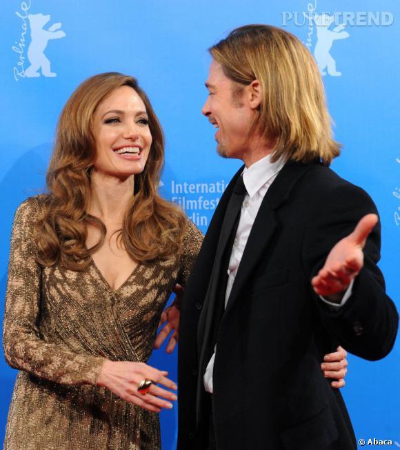Angelina Jolie et Brad Pitt complices et soudés dans les épreuves de la vie.