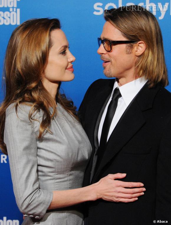 Angelina Jolie et Brad Pitt, un mariage imminent après 7 ans d'amour.