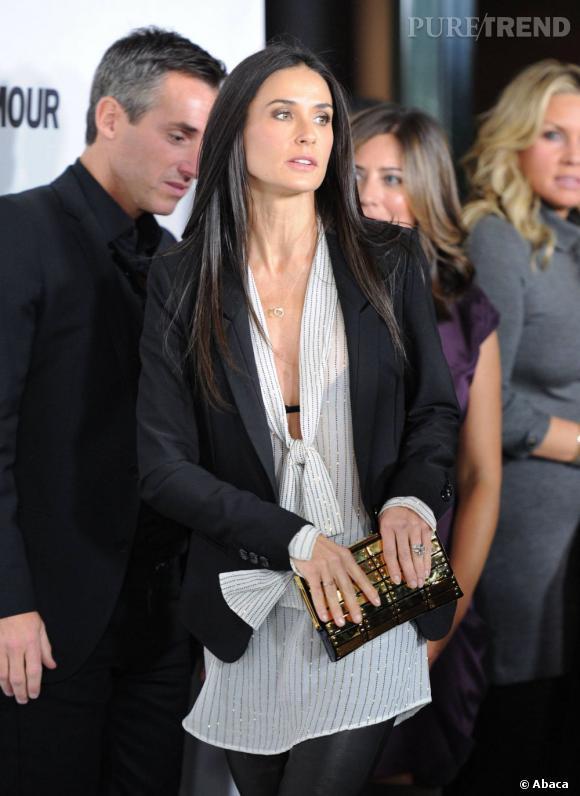 Demi Moore, élue star qui vieillit le mieux selon un sondage.
