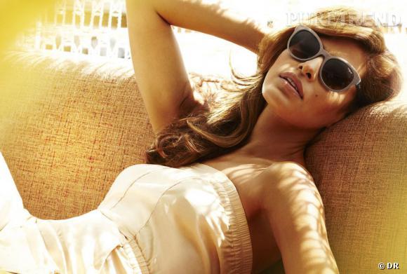 Eva Mendes dans la campagne Printemps-Eté 2013 Vogue Eyewear.