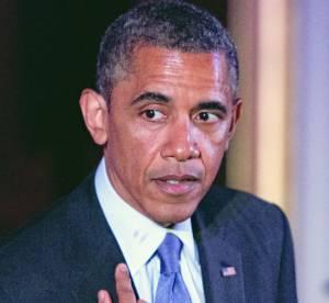 Barack Obama et l'histoire de la trace de rouge a levres sur son col...