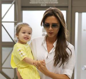 Victoria Beckham en famille, maman debordee mais stylee