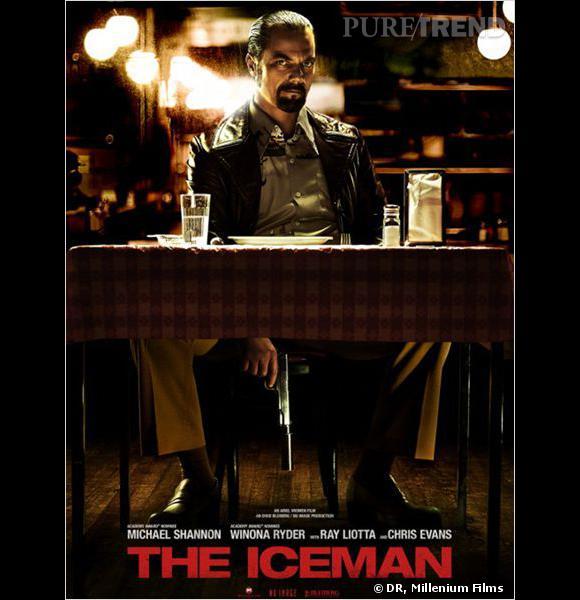 """L'affiche officielle de """"The Iceman"""" avec Michael Shannon."""