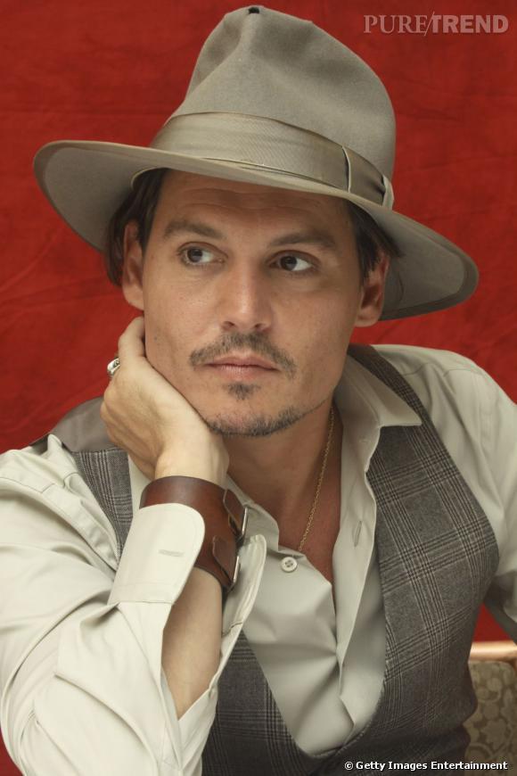 Johnny Depp rock et dandy en 2009.