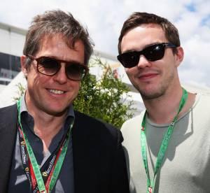 Nicholas Hoult et Hugh Grant, reunis 11 ans apres ''Pour un garcon''