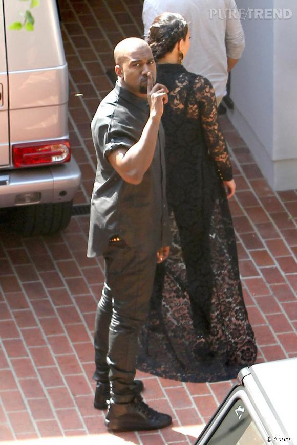 Kanye West aurait trompé Kim Kardashian avec un mannequin canadien. Une information donnée par ladite amante !