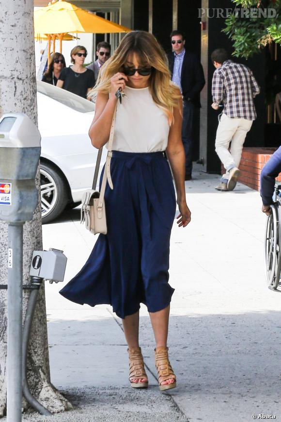 Lauren Conrad dans les rues de Los Angeles.