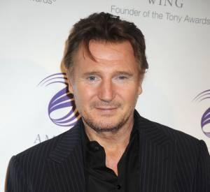 Liam Neeson, discrèt sur tapis rouge, mais bientôt de retour sur grand écran.