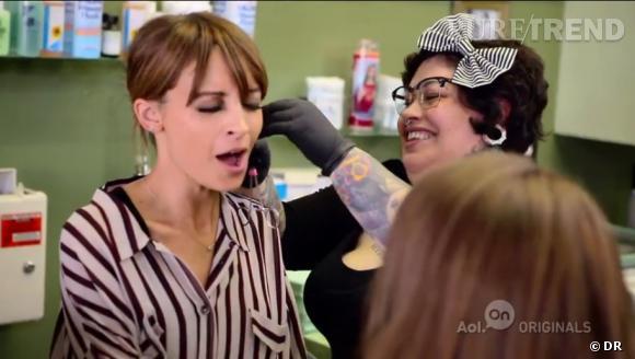 Nicole Richie n'en est pas à son premier piercing.