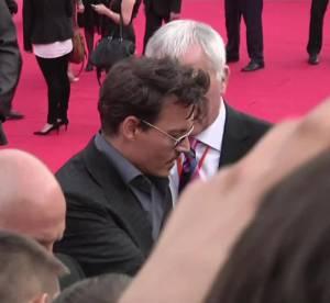 Johnny Depp : le sex symbol a Moscou pour son film Lone Ranger