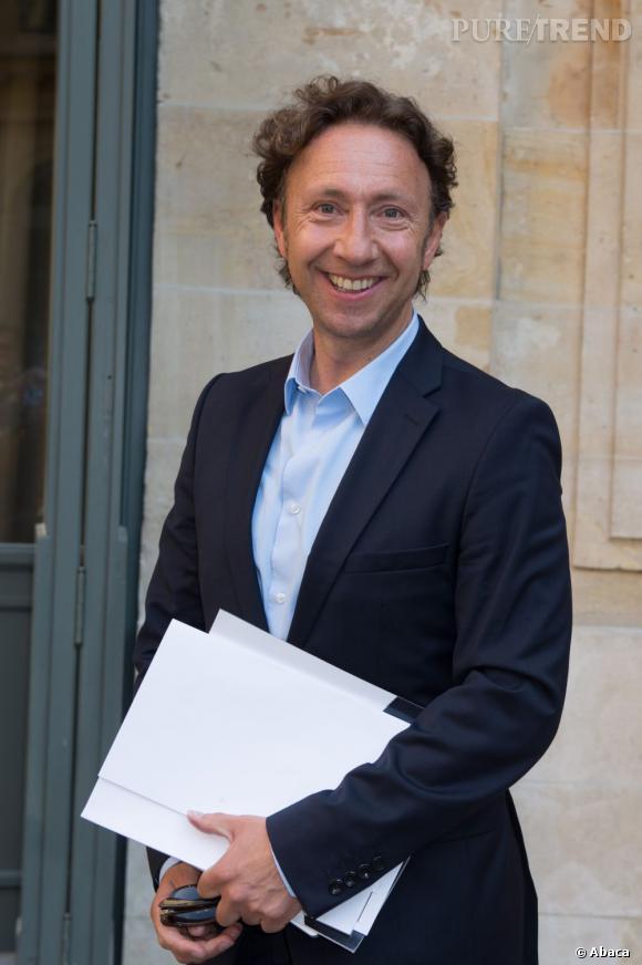 Stéphane Bern au défilé Alexis Mabille à Paris.