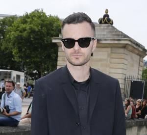 Kris Van Assche au défilé Christian Dior à Paris.
