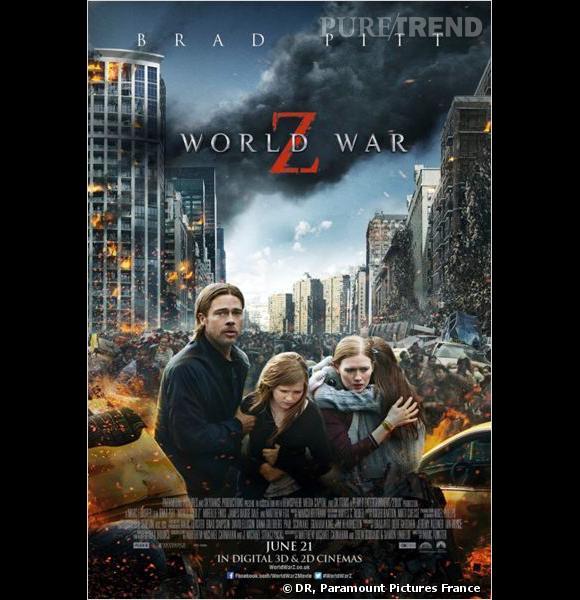 """World War Z"" avec Brad Pitt, actuellement au cinéma."