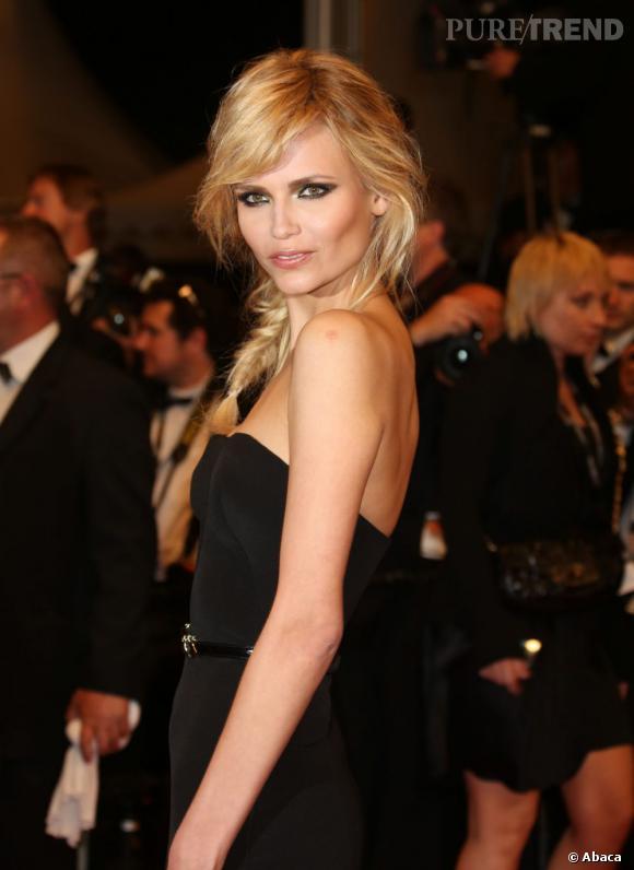 Natasha Poly : on copie sa tresse bohème et glamour grâce à la laque Elnett.