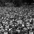 En 1969, 250 000 personnes étaient présentes pour ce show gratuit.
