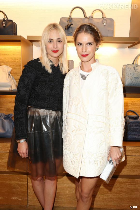 Loewe dévoile le nouveau design de sa boutique à Paris avec Elisabeth Von Thurn Und Taxis & Eugenie Niarchos