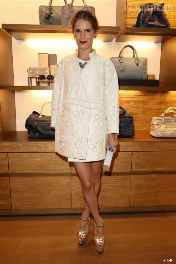 Loewe dévoile le nouveau design de sa boutique à Paris avec Eugenie Niarchos