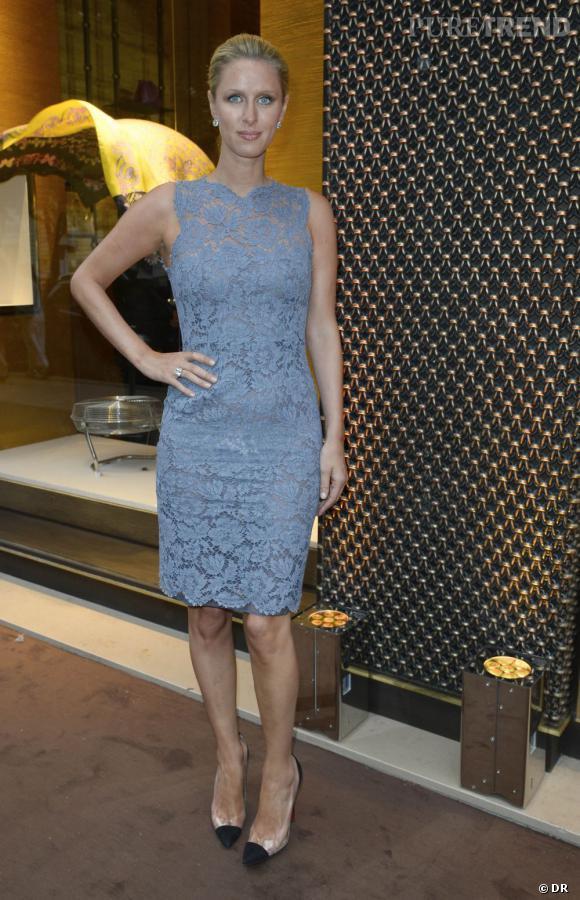Loewe dévoile le nouveau design de sa boutique à Paris avec Nicky Hilton