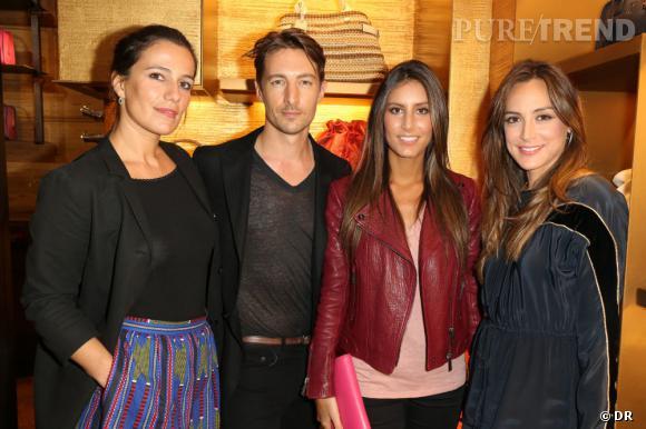 Loewe dévoile le nouveau design de sa boutique à Paris avec Zoe Felix & Benn Northover & Ana Boyer & Tamara Falco