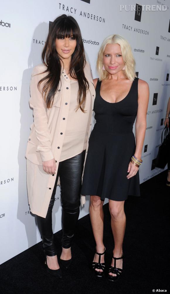 Kim Kardashian avait même invité la coach sportive à sa baby shower... Histoire d'être sûre qu'elle ne l'abandonne pas au moment de devoir perdre ses kilos de grossesse.