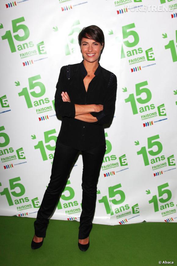 Alessandra Sublet, bientôt de retour en Prime Time sur France 5.