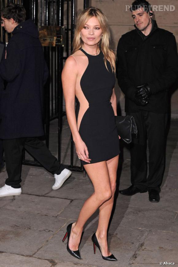 Kate Moss, l'ex égérie Vogue Eyewear plus rock'n roll.