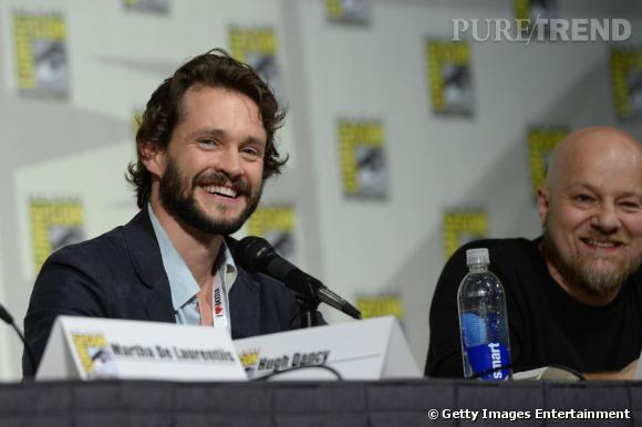 "Hugh Darcy parle d'""Hannibal"" au Comic-Con 2013 à San Diego."