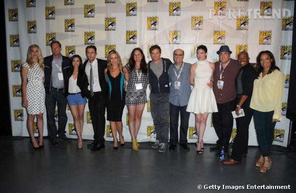 """Le panel """"Dexter"""" au Comic-Con 2013 à San Diego."""