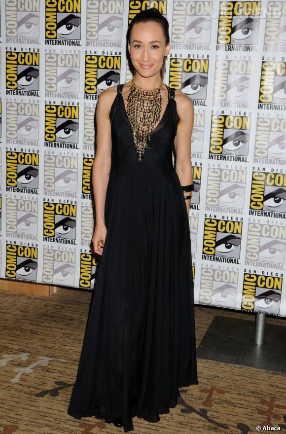 Maggie Q au Comic-Con 2013 à San Diego.
