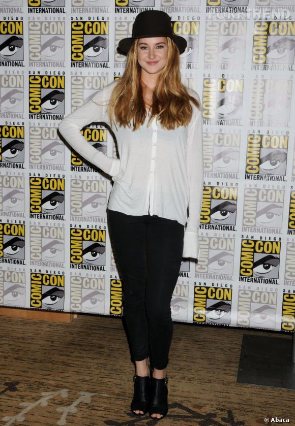 Shailene Woodley au Comic-Con 2013 à San Diego.